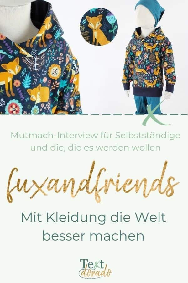 Pulli vom Leipziger Modelabel fuxandfriends
