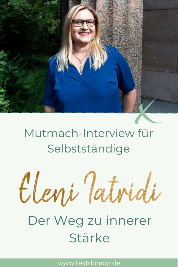 Eleni Iatridi: Der Weg zu innerer Stärke 1