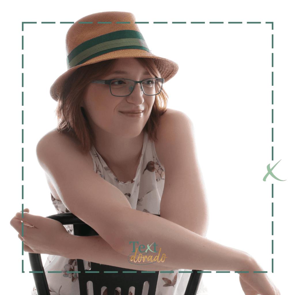 Texterin Jane Schmidt ist introvertiert und stolz darauf