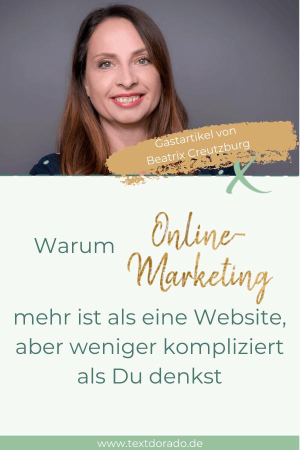 Online-Marketing: Beatrix Creutzburg erklärt die Grundlagen