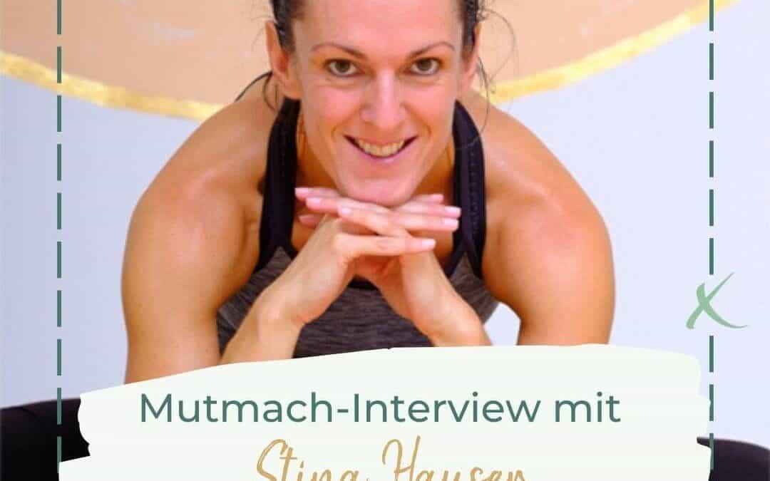 """Stina Hauser: """"Jeder Rückschlag ist eine Einladung, einen besseren Überblick zu bekommen"""""""