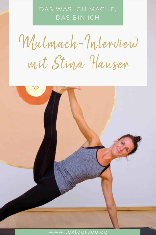 Grafik Stina Hauser: Das was ich mache, das bin ich