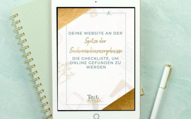 Grafik SEO-Checkliste