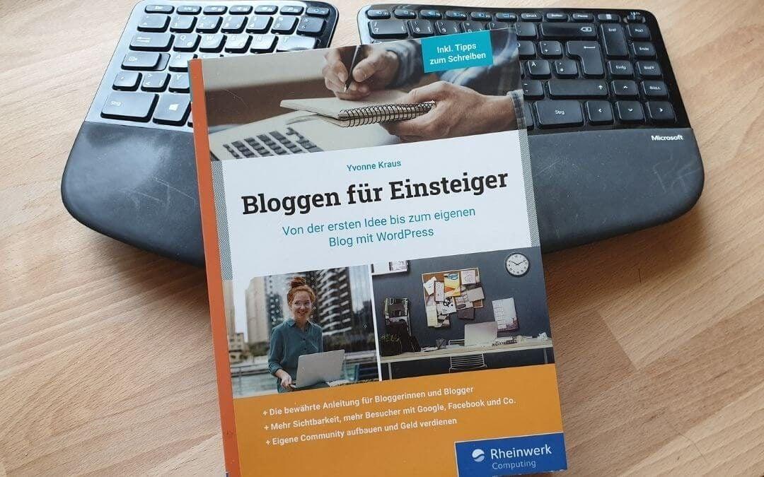 """Buchrezension: """"Bloggen für Einsteiger"""" von Yvonne Kraus"""