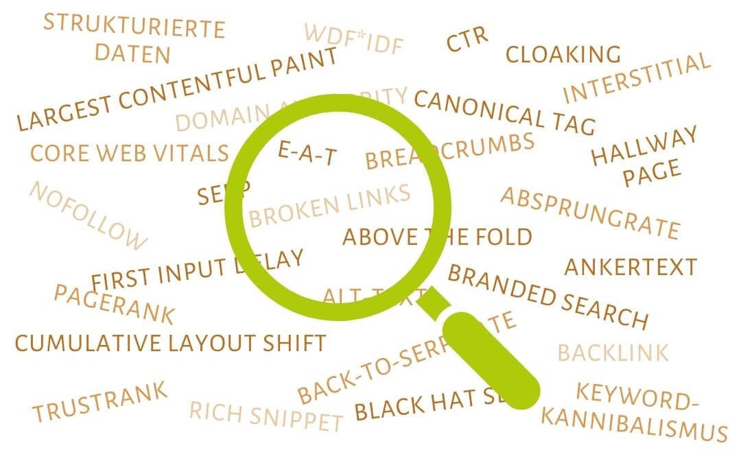 SEO-Glossar: 60+ wichtige SEO-Begriffe einfach erklärt (inkl. Beispielen)
