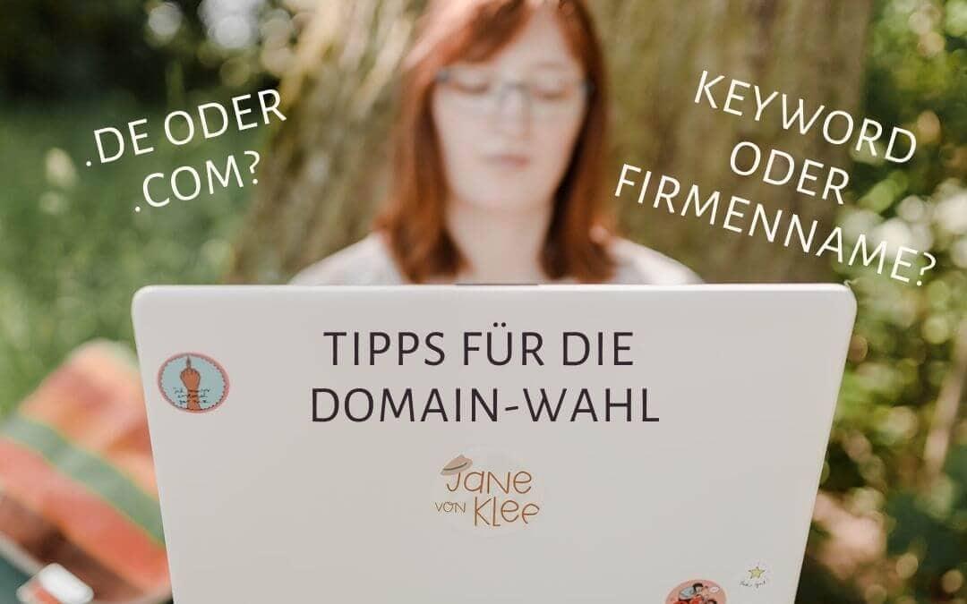 Domain SEO: De oder Com? Keyword-Domain oder Firmenname?